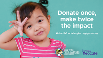 Donate once make twice the impact!