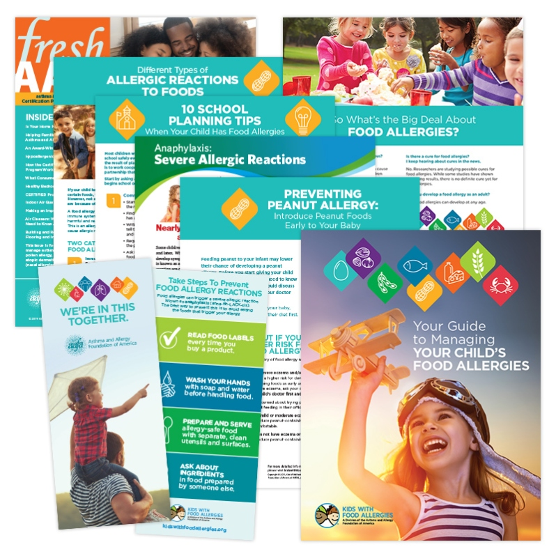 Food Allergy Health Information Pack