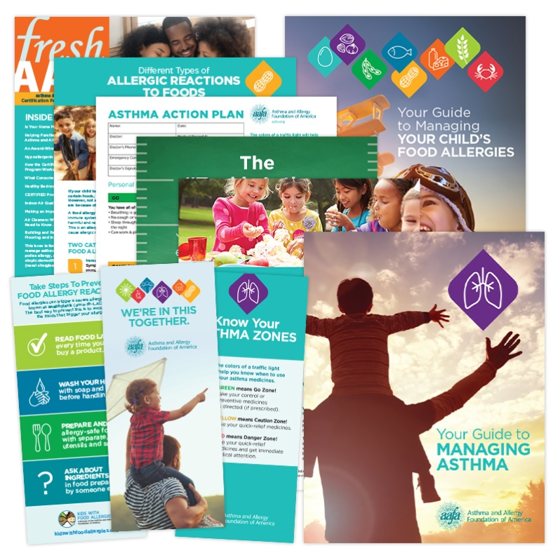 Asthma and Food Allergy Information Pack