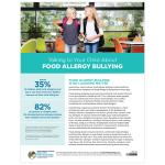 Talking to Your Child - Food Allergy Bullying (PDF