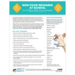 Non-Food Rewards at School (PDF)