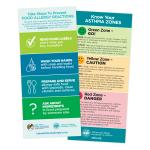 Asthma/Food Allergy Rack Cards (Pack of 10)