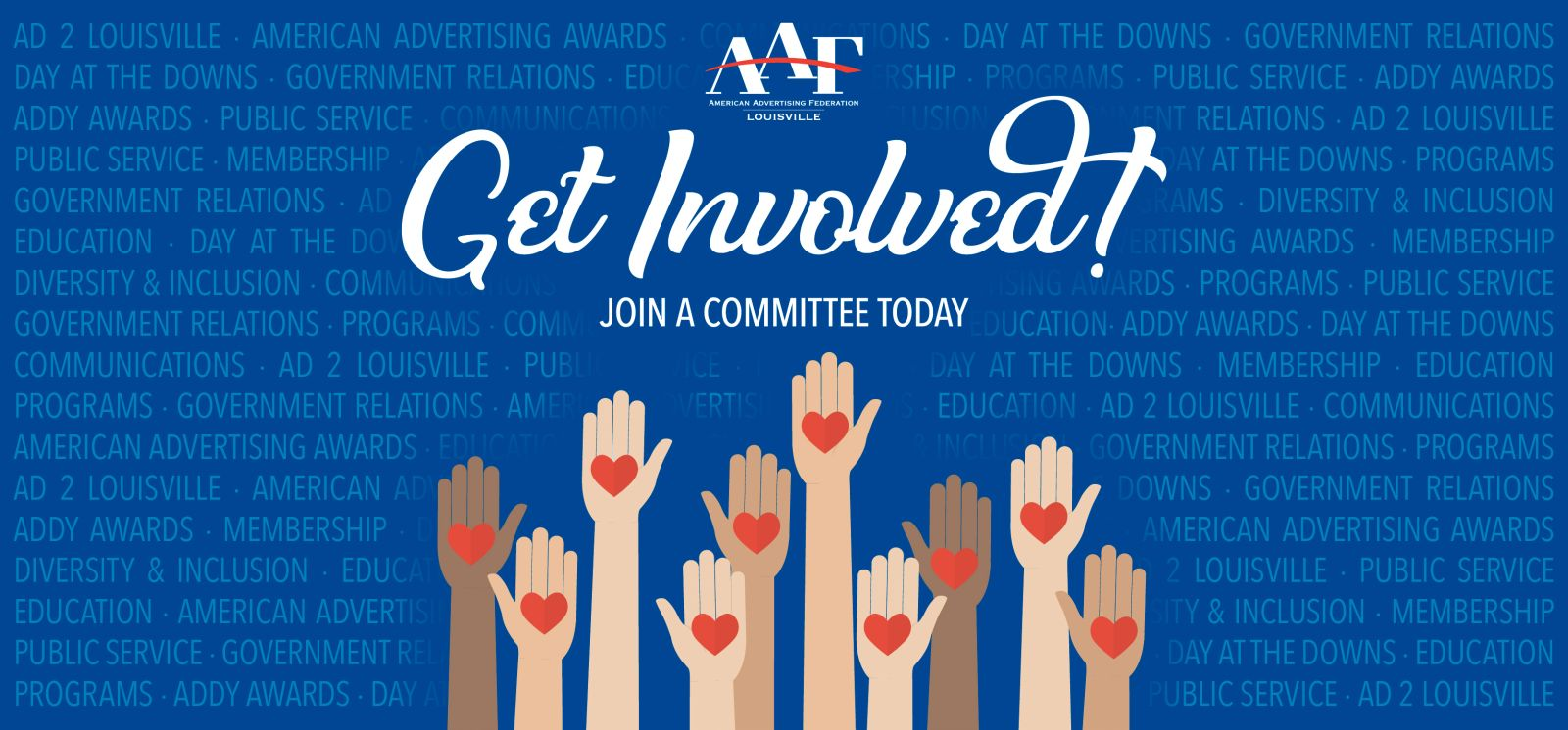 Get Involved! Join a Committee Today