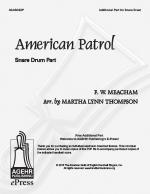 American Patrol - Snare Drum Part