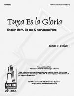 Tuya Es la Gloria - English Horn C Bb Instrument