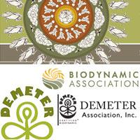 BDA and Demeter USA logos