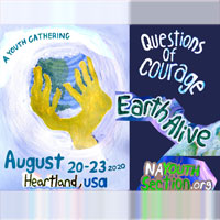 Questions of Courage youth gathering