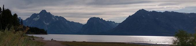 Teton Mountains, Wyoming, August