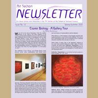 The Art Section newsletter