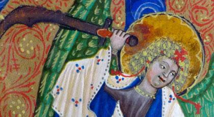 Raphael, Archangel Michael, detail