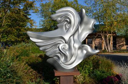 Flight, a new sculpture by Martina Angela Müller