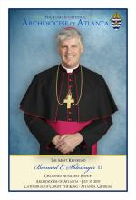 Prayer Card (English) - Bernard E. Shlesinger III