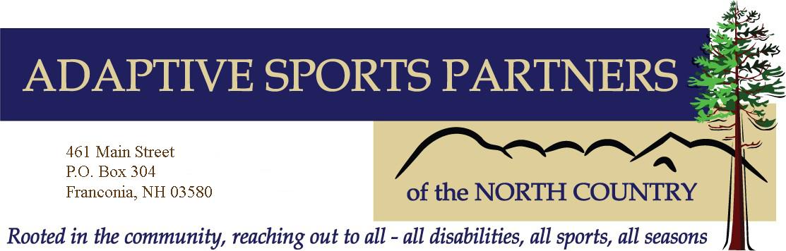 ASPNC, PO Box 304, Franconia, NH 03580 603-823-5232 info@adaptivesportspartners.org