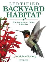 Backyard Habitat Certification (Existing Members)