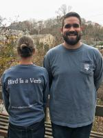 Bird is a Verb - Long Sleeve T-shirt