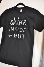 Shine Inside + OUT T-shirt:  Men's