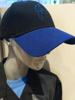 Black and Blue Cap