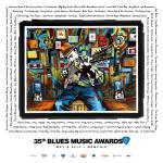 2014 Blues Music Award Poster