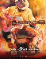 2016 Blues Music Award Poster