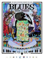 2017 Blues Music Award Poster