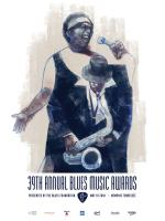 2018 Blues Music Awards Poster