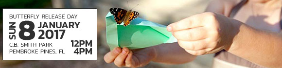 First Annual butterfly release and fundraiser