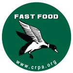 Sticker: Fast Food_duck