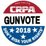 Sticker: 2018 Gunvote
