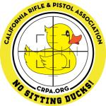 Sticker: NO SITTING DUCKS