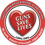 Sticker: GUNS SAVE LIVES