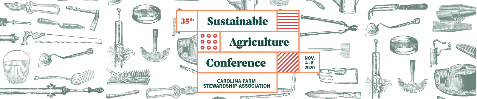 2020 Sustainable Agriculture Conference banner
