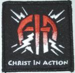 Patch, Embroidered, Christ In Action