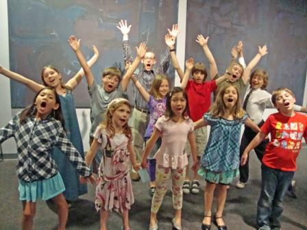 Kids sing at CMC