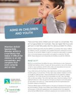 ADHD in Children and Youth