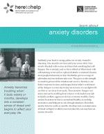 Anxiety Disorder (adult)