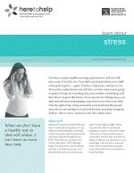 Learn about stress