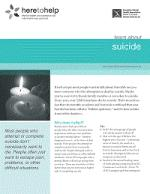 Learn about suicide