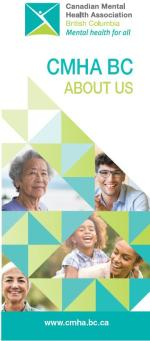 CMHA BC Division: Who we are, what we do brochure