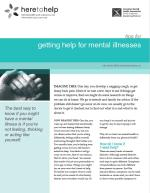 Tips for Getting Help for Mental Illnesses