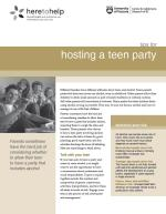 Hosting a Teen Party