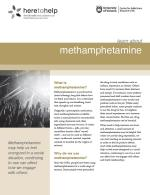 Learn about methamphetamine