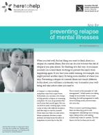 Preventing Relapse of Mental Illnesses
