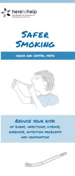 Safer Smoking: Crack and crystal meth