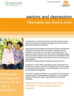 Seniors and Depression: what you need to know