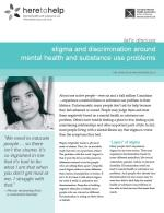 Stigma and Discrimination Around Mental Health and