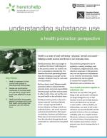 Understanding Substance Use: A health promotion pe