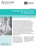 Working with your Doctor for Depression