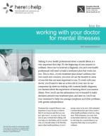 Working with your Doctor for Mental Illnesses