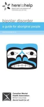 Bipolar disorder, aboriginal people brochure