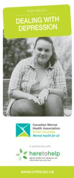 Dealing with depression, youth brochure